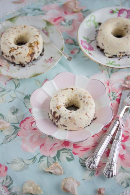 Eis-Donut Schoko Crunch