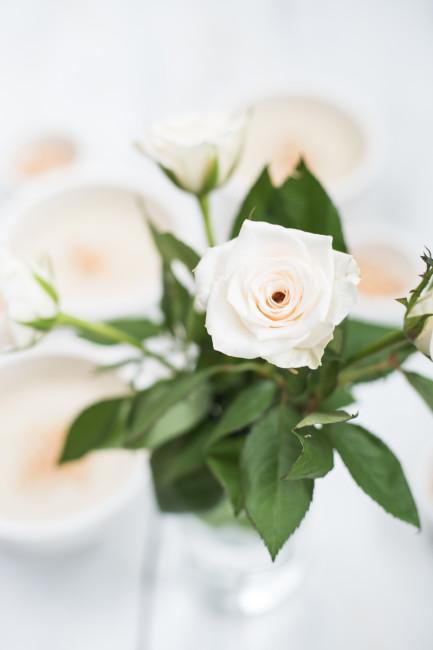 White Dinner Canellini Blumenkohlsuppe Kokos-Mandeltopping-6