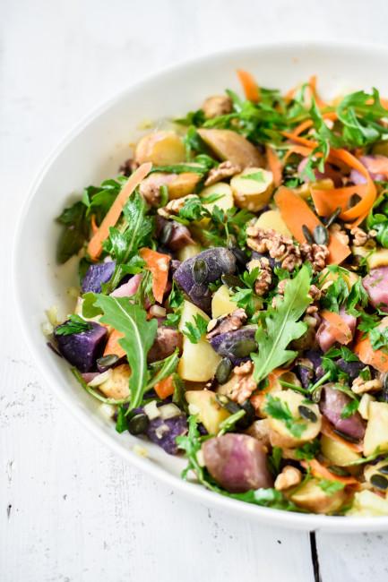 Kartoffelsalat mit Senf-Vinaigrette-5373