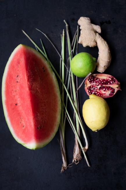 Melonenbowle Sommerdrink-13