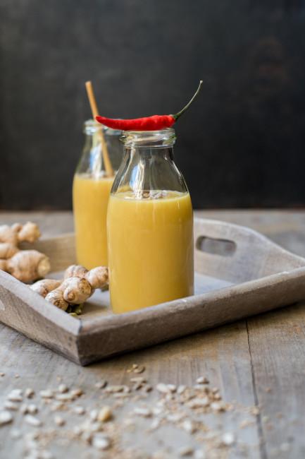 Gelbe-Bete-Suppe mit Steckrüben und Curcuma-2