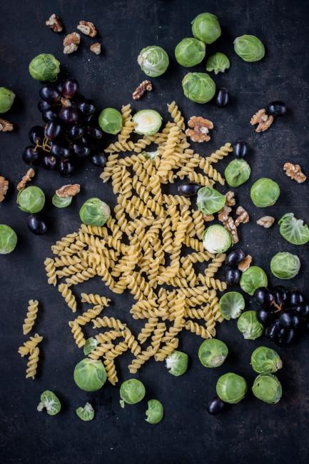 Wintergemüse und Pasta Vegetarisch kochen