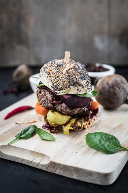 Burger selbermachen: Rezept fuer Winterburger