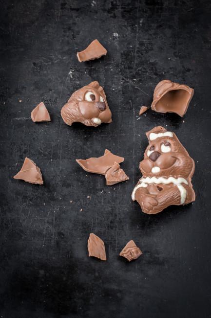 Süßigkeitenrecycling: Pralinen aus Schokoladenresten