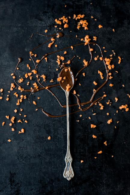 Moehren-Schokoladenkuchen