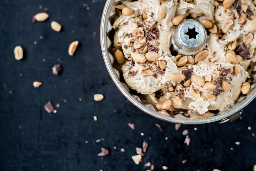 Peanut Icecream Homemade