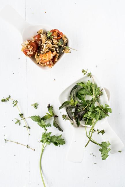 Grillsalat mit Sommerkräutern