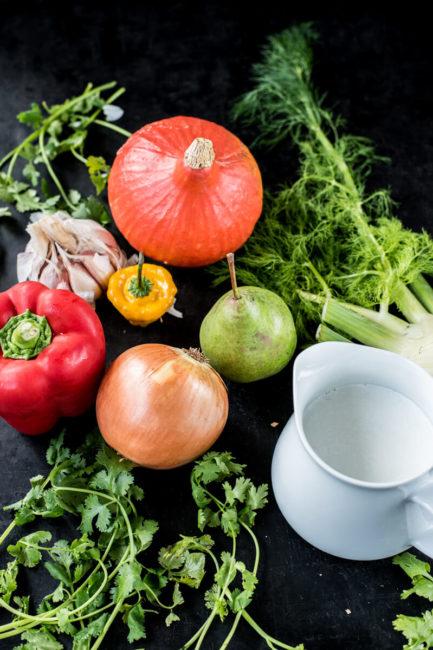 Herbstgemüse: Thailändisches Curry mit Gemüse - Low Carb und schnelle Küche