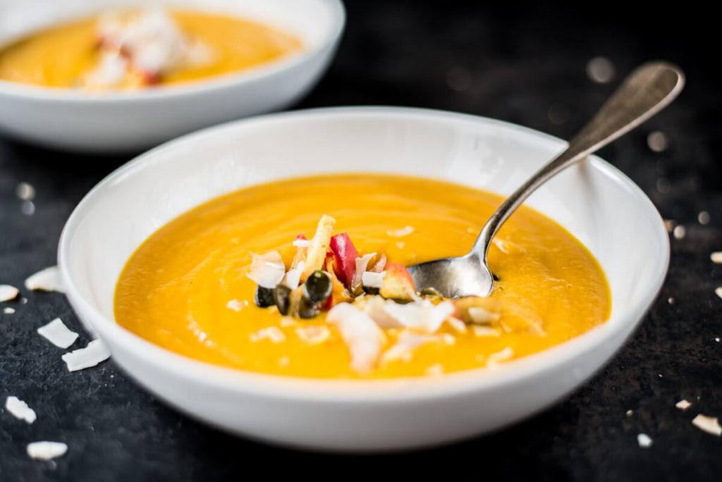 Rezept für Festtagsmenü: Suppe als Vorspeise
