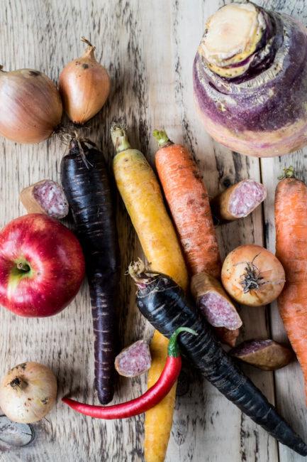 Herbstgemuese: Kochen mit Steckrüben und Möhren
