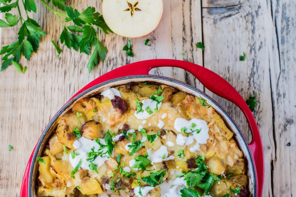 Kochen im Winter: Tortilla mit Äpfeln und Kartoffeln