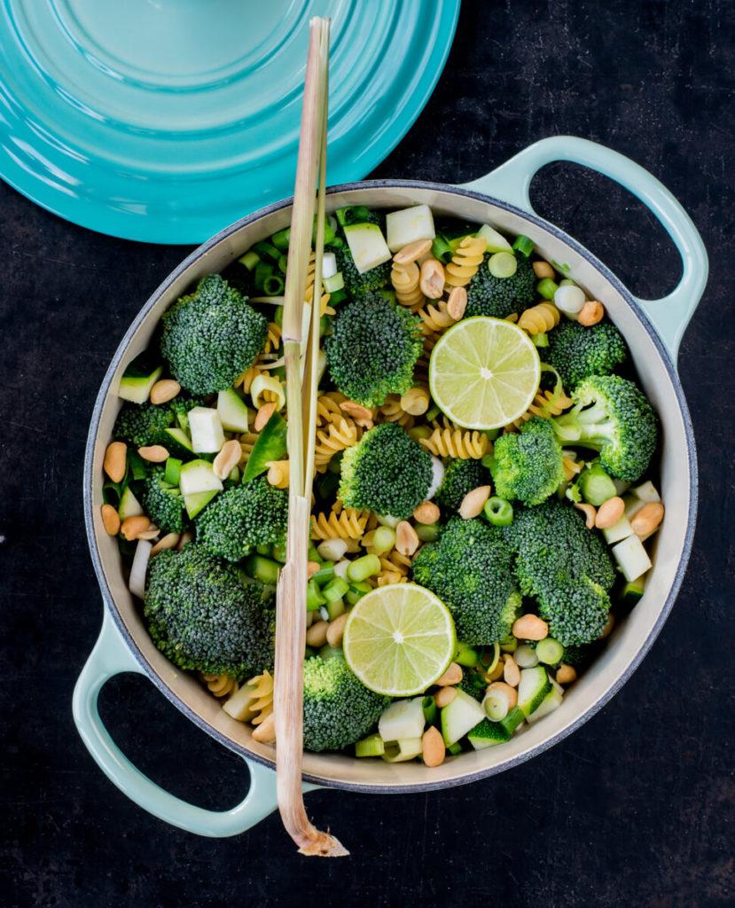 One Pot Pasta Thai Curry