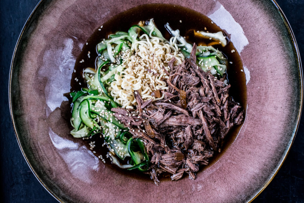 Pulled Beef asiatisch