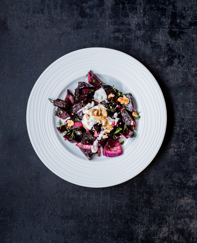 Lieblings Rote Bete Salat Mit Dill Und Nüssen Schmecktwohl