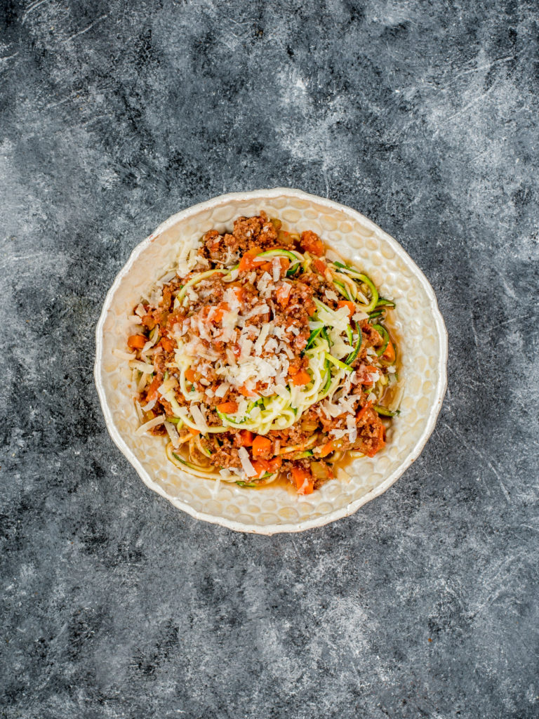 Spaghetti Bolognese Low Carb
