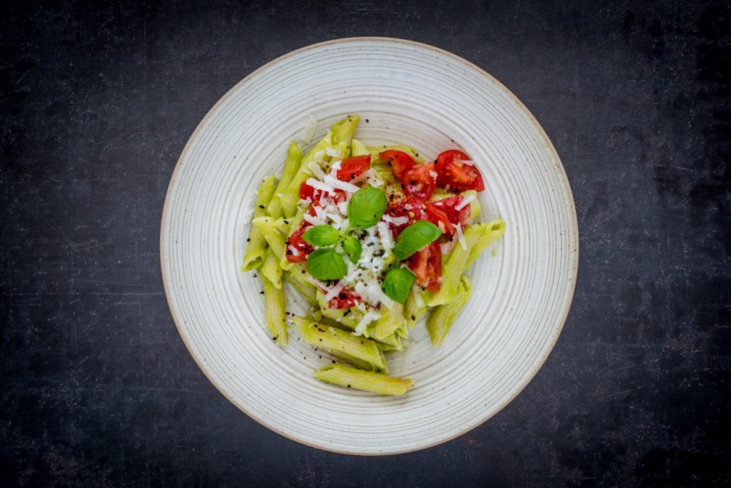 Avocadopasta Tomate Guacamole Alexander Herrmann