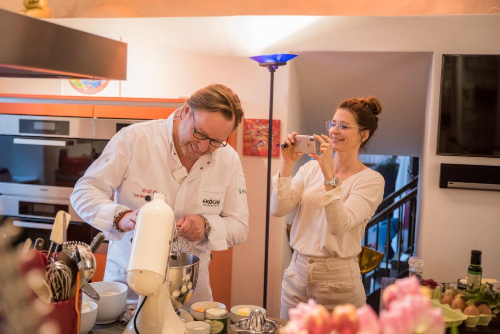 Thomas Bühner zu Hause Kochvideos