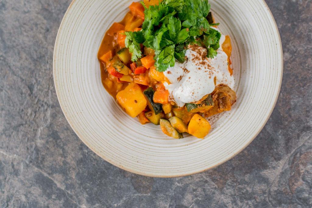 Indisches Curry vegetarisch