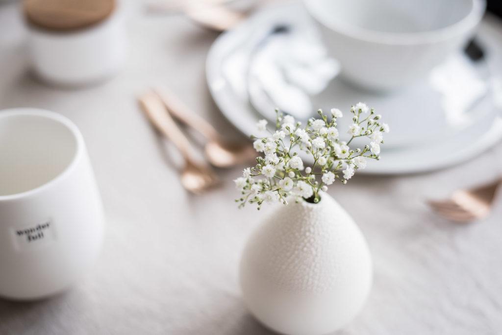 Ostermenü Tischdeko