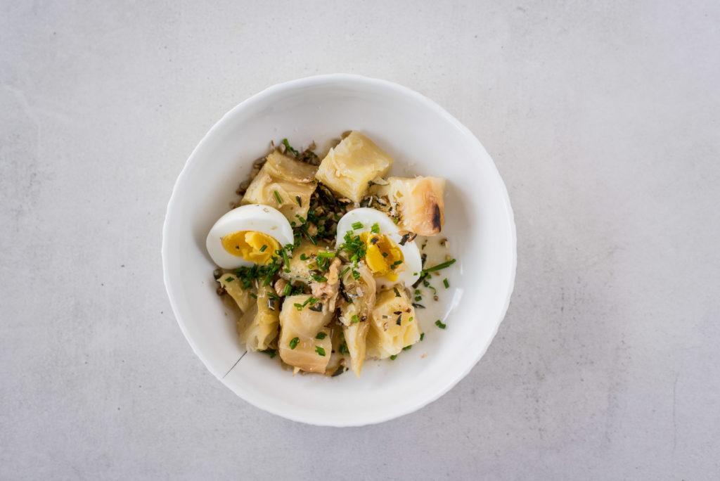 Spitzkohl vegetarisch Ostermenü